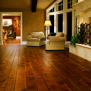 Wooden Floorings showroom in Ahmedabad