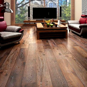 Amin's Wooden Floorings showroom in Ahmedabad