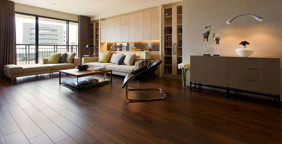 Amins Wooden flooring Showroom in Ahmedabad